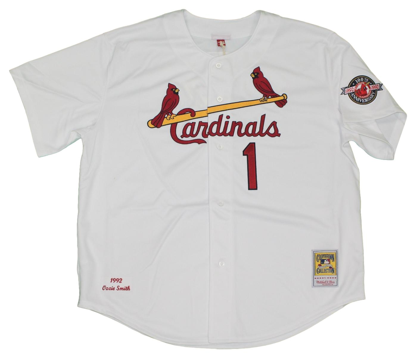 Ozzie Smith St. Louis Cardinals Mitchell & Ness MLB Authentic 1992 Jersey