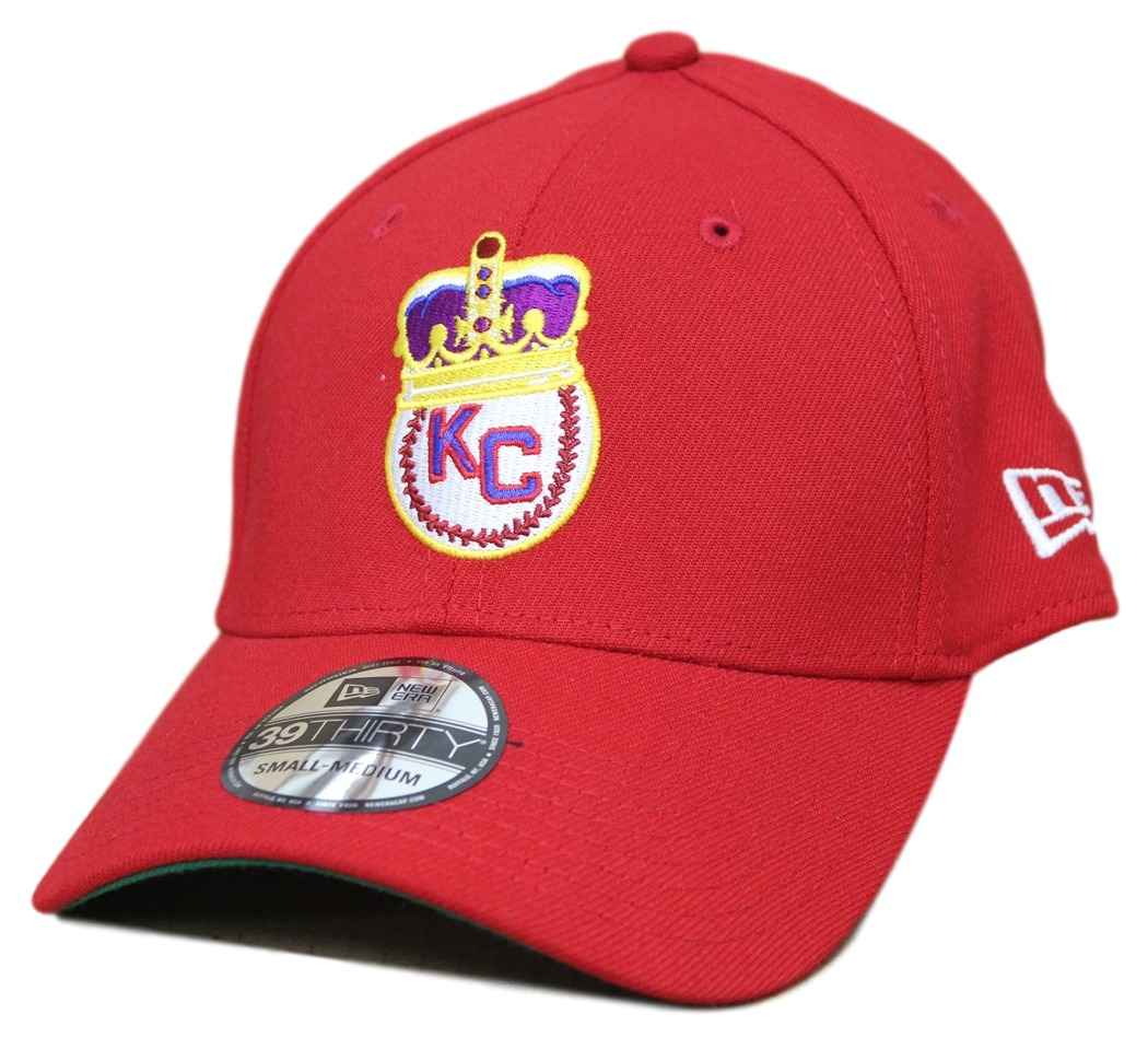 Kansas City Monarchs New Era 39THIRTY Negro League Classic Custom Flex Fit Hat