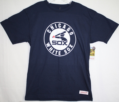 Chicago White Sox Mitchell & Ness Navy Traditional Premium T-Shirt