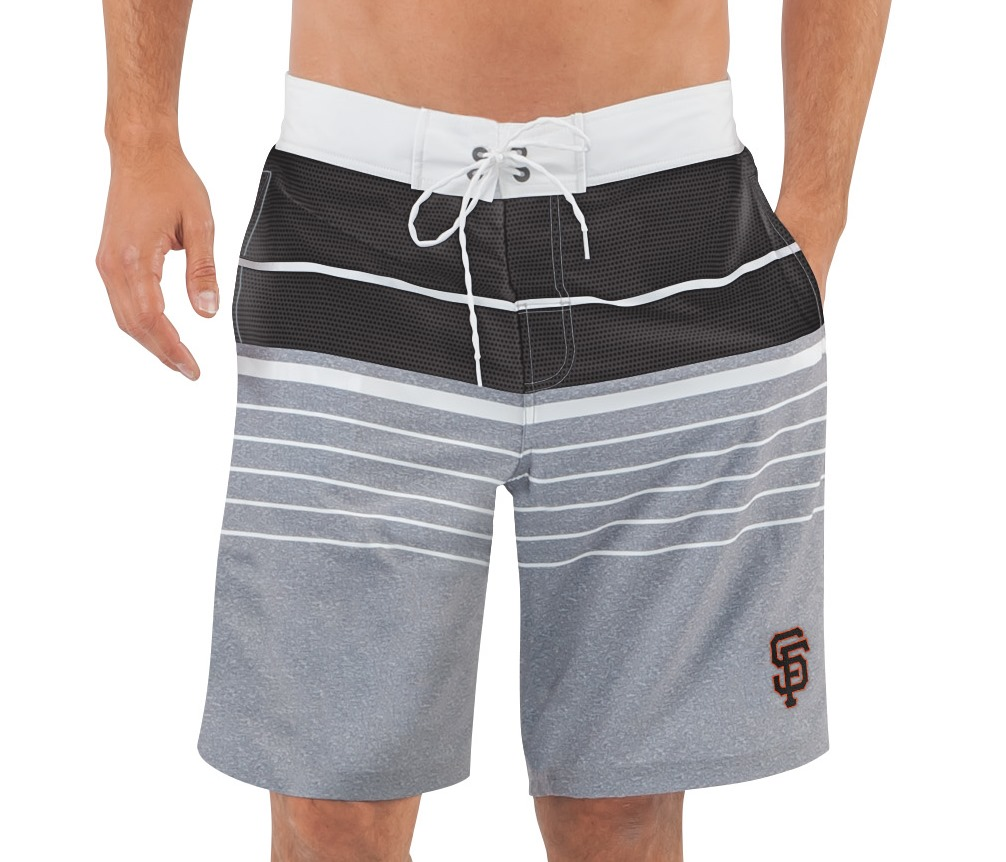 "San Francisco Giants MLB G-III ""Balance"" Men's Boardshorts Swim Trunks"
