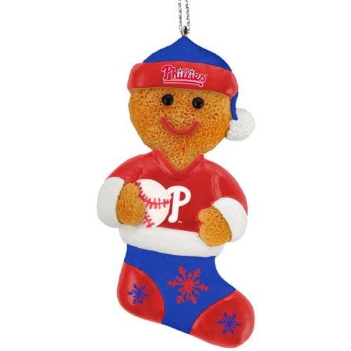 Philadelphia Phillies 2012 Gingerbread Man Ornament