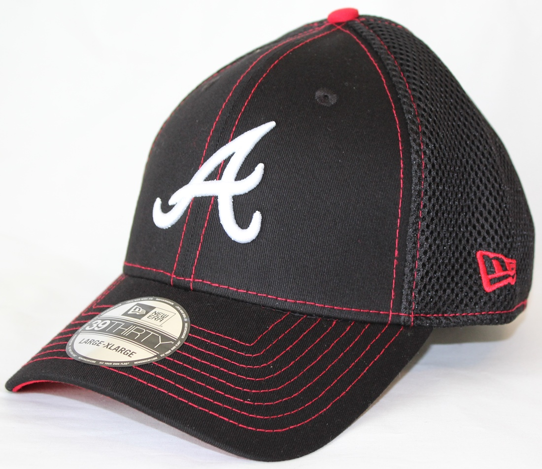 Atlanta Braves New Era 39THIRTY Crux Line Neo Flex Fit Hat