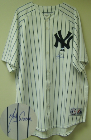 Melky Cabrera Signed Yankees Pinstripe Jersey