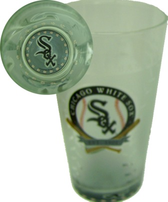 Chicago White Sox 17 Oz. Glass