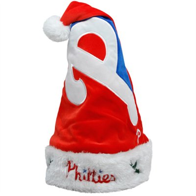 Philadelphia Phillies 2011 Colorblock Runoff Plush Santa Hat