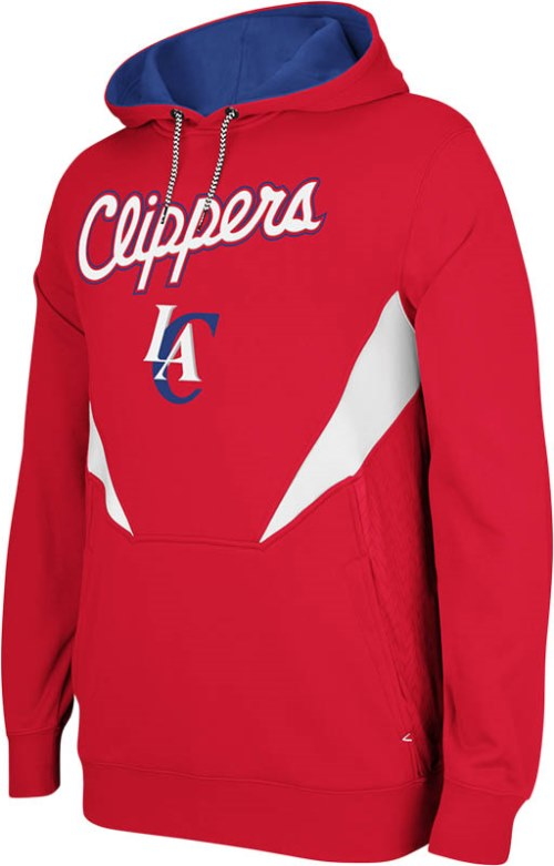 Los Angeles Clippers Adidas 2013 NBA Resonate Performance Hooded Sweatshirt