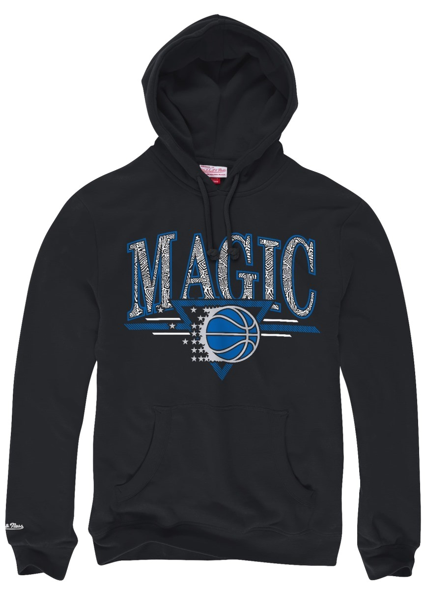 "Orlando Magic Mitchell & Ness NBA ""Abstract Vibes"" Pullover Hooded Sweatshirt"