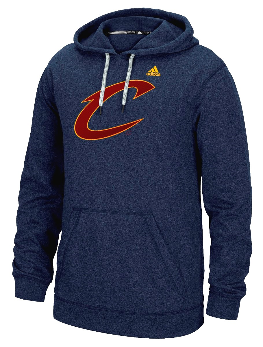 "Cleveland Cavaliers Adidas NBA ""Dotted Fade"" Men's Climawarm Hooded Sweatshirt"
