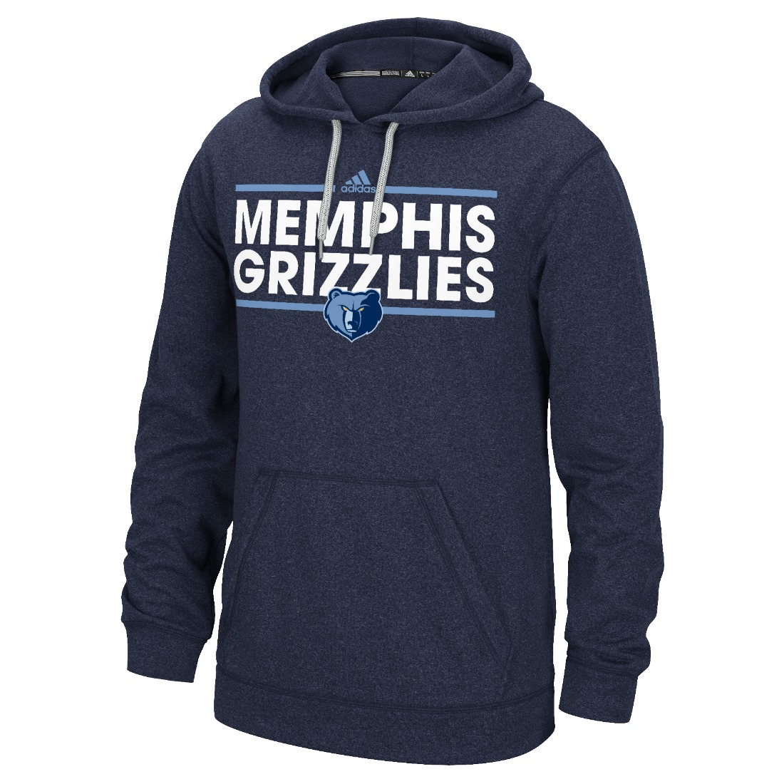 "Memphis Grizzlies Adidas NBA ""Dassler"" Men's Climawarm Hooded Sweatshirt"
