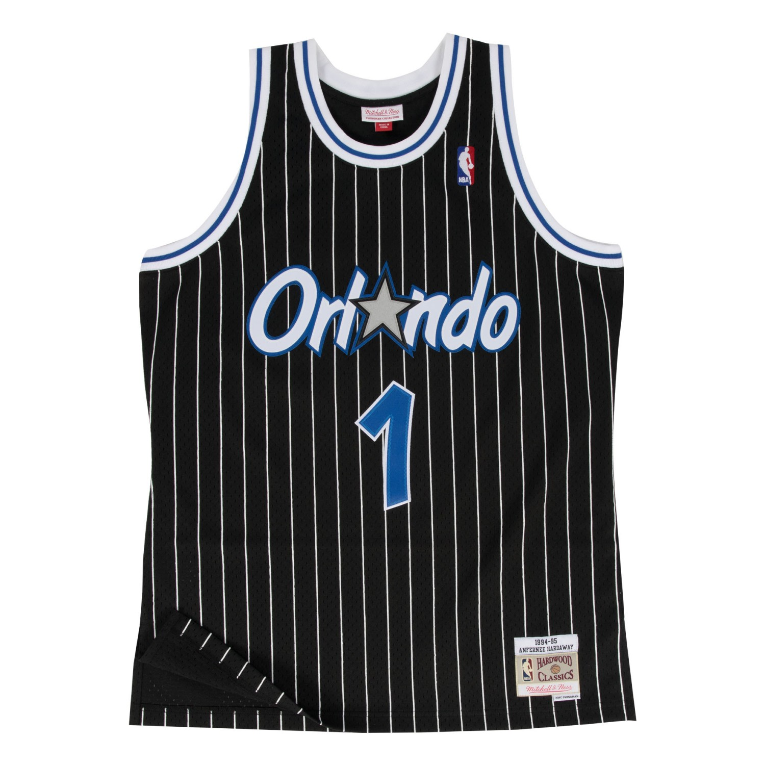 Anfernee Hardaway Orlando Magic Mitchell & Ness NBA Throwback Jersey - Black