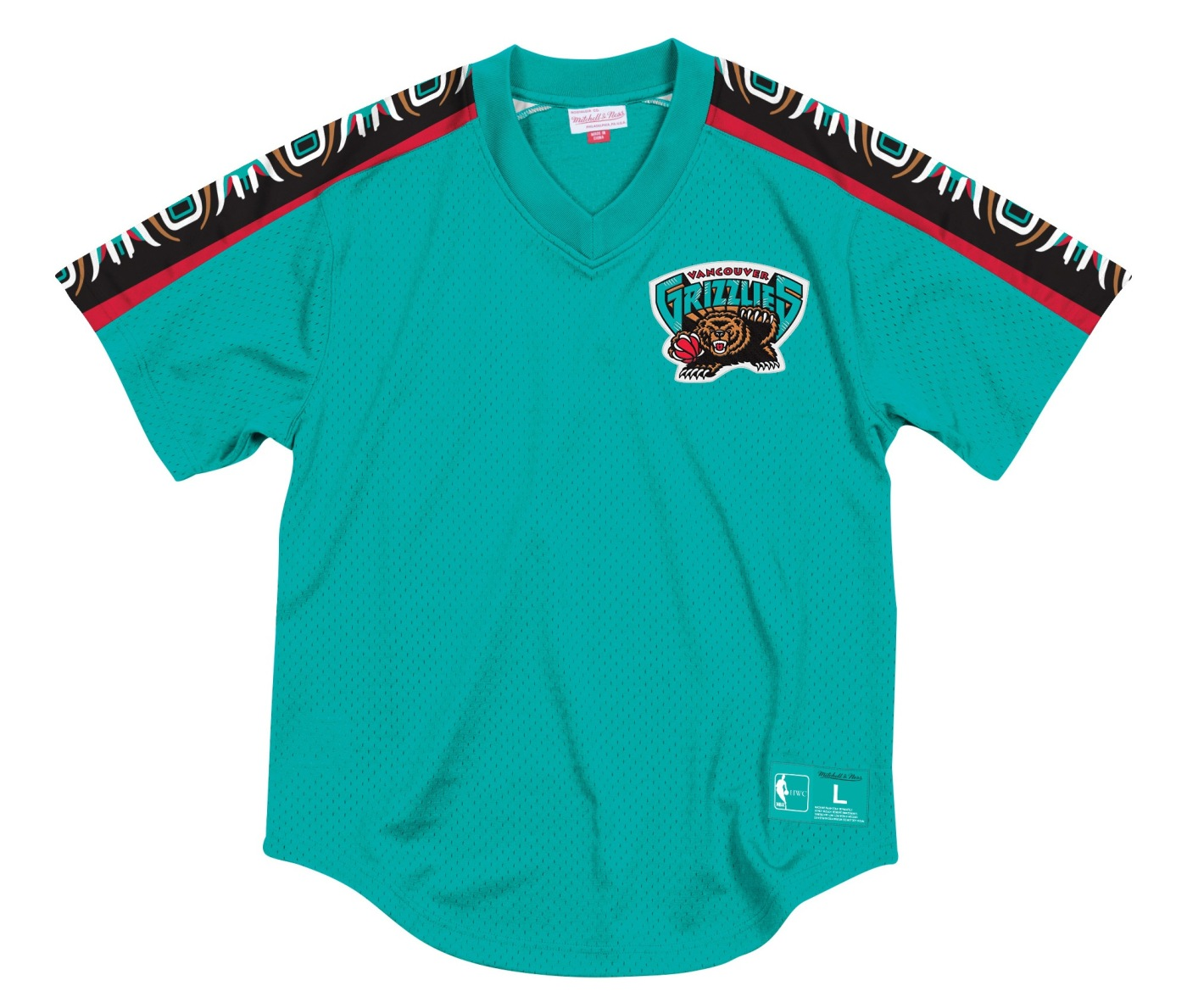 "Vancouver Grizzlies Mitchell & Ness NBA Men's ""Winning Team"" Mesh Jersey Shirt"