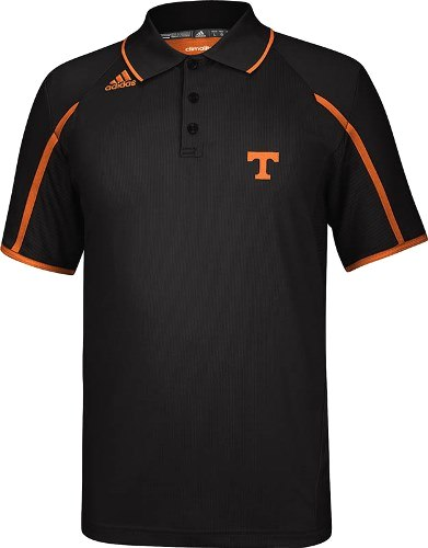 Tennessee Volunteers Adidas 2013 Sideline Climalite Polo Shirt - Black