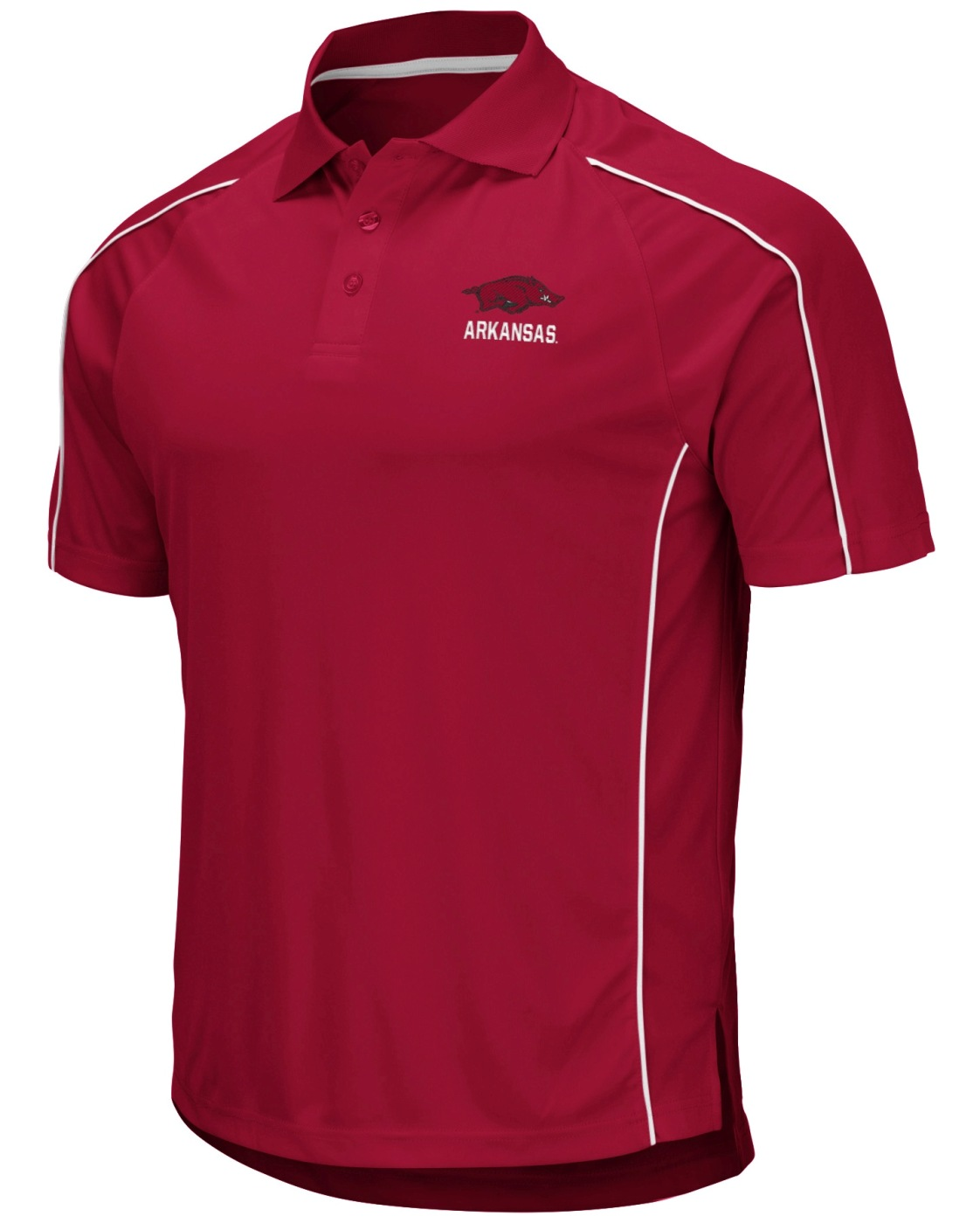 "Arkansas Razorbacks NCAA ""Bunker"" Men's Performance Polo Shirt"