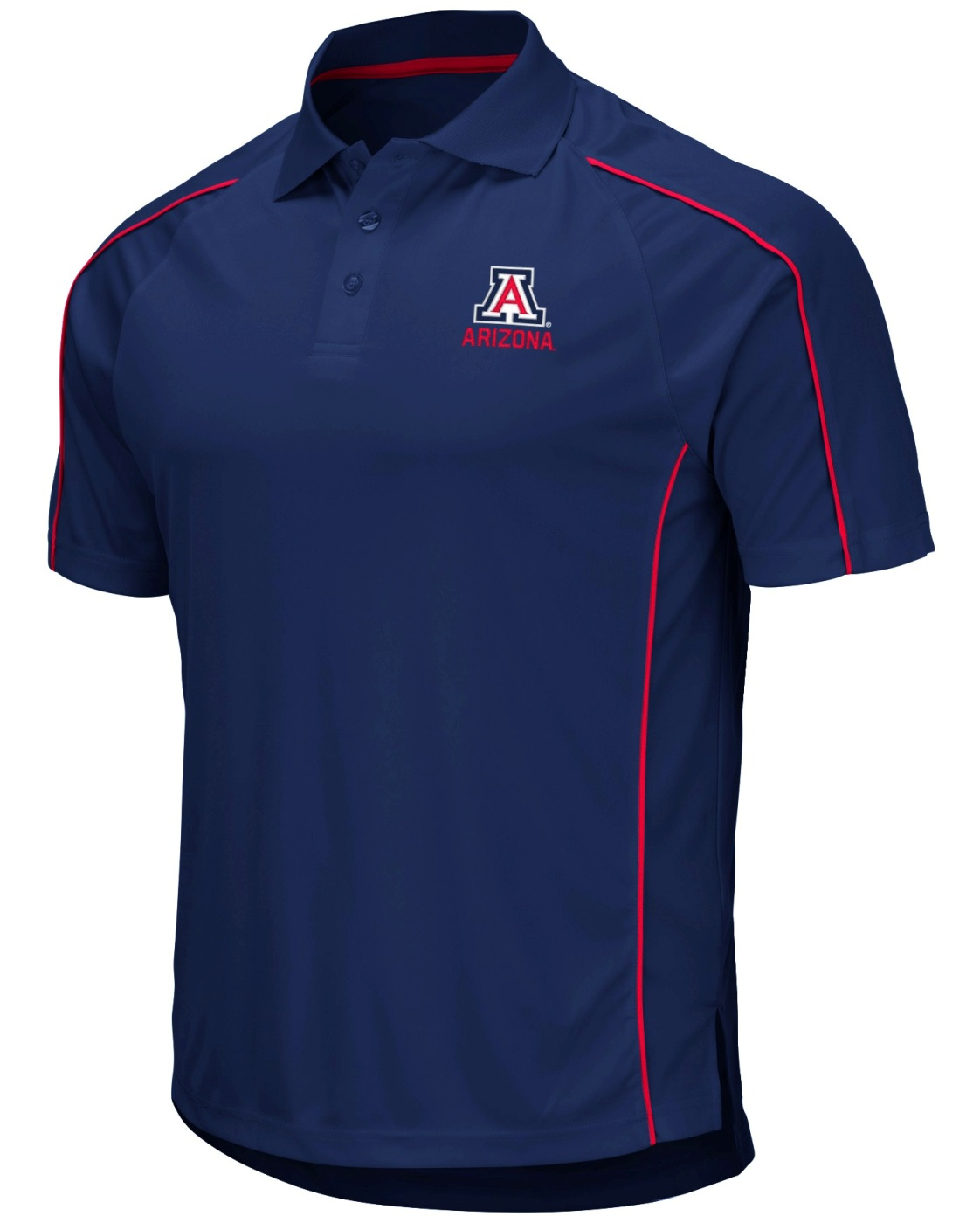 "Arizona Wildcats NCAA ""Bunker"" Men's Performance Polo Shirt"