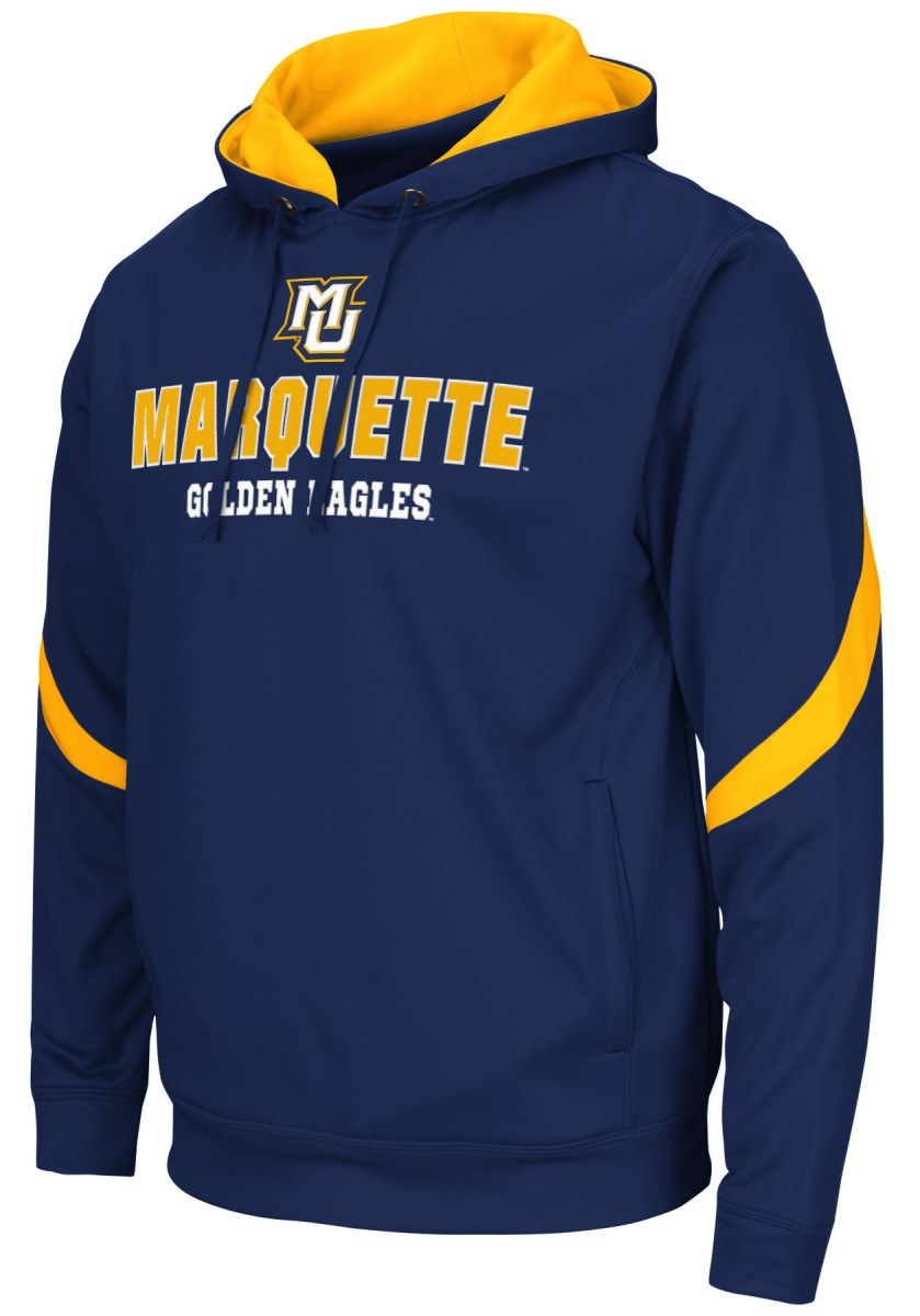 "Marquette Golden Eagles NCAA ""Triple Threat"" Pullover Hooded Men's Sweatshirt"