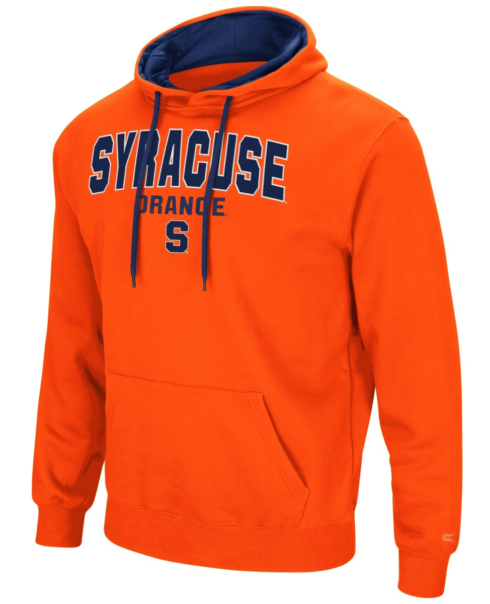 "Syracuse Orange NCAA ""End Zone"" Pullover Hooded Men's Sweatshirt - Orange"