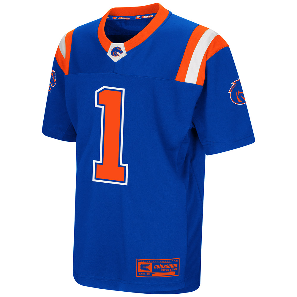 "Boise State Broncos NCAA ""Double Reverse Play "" Youth Football Jersey"