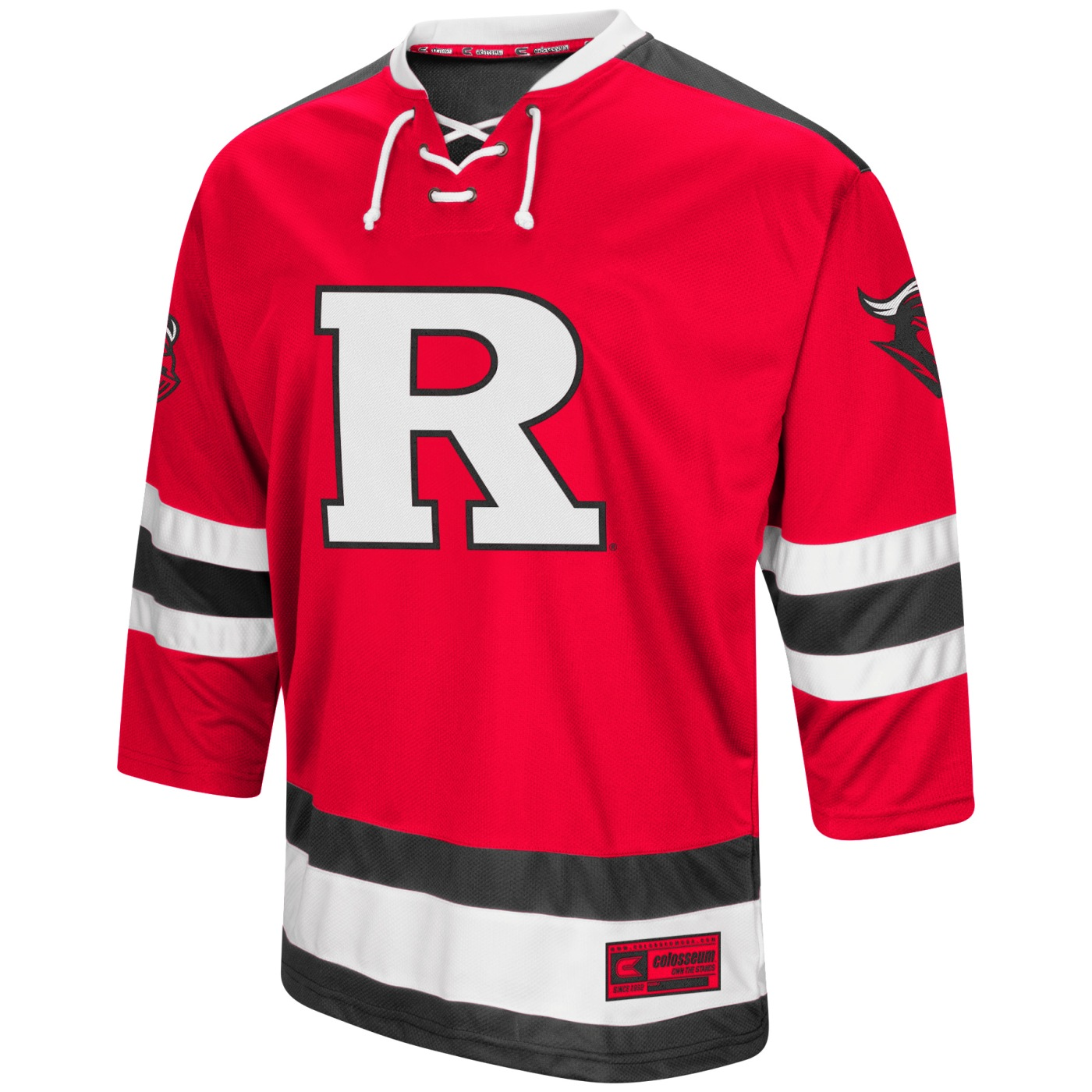 "Rutgers Scarlet Knights NCAA ""Ice Machine"" Men's Hockey Sweater Jersey"