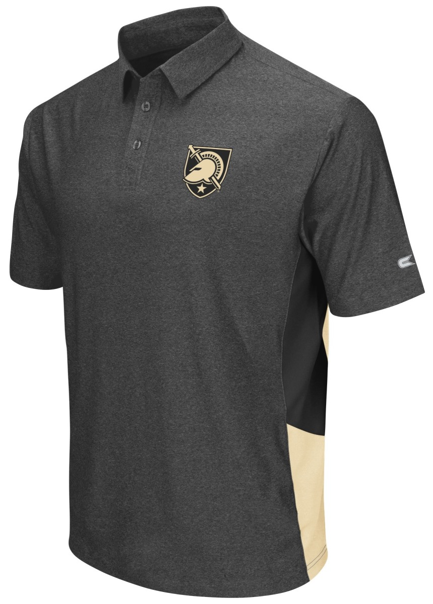 "Army Black Knights NCAA ""The Bro"" Men's Performance Polo Shirt - Charcoal"