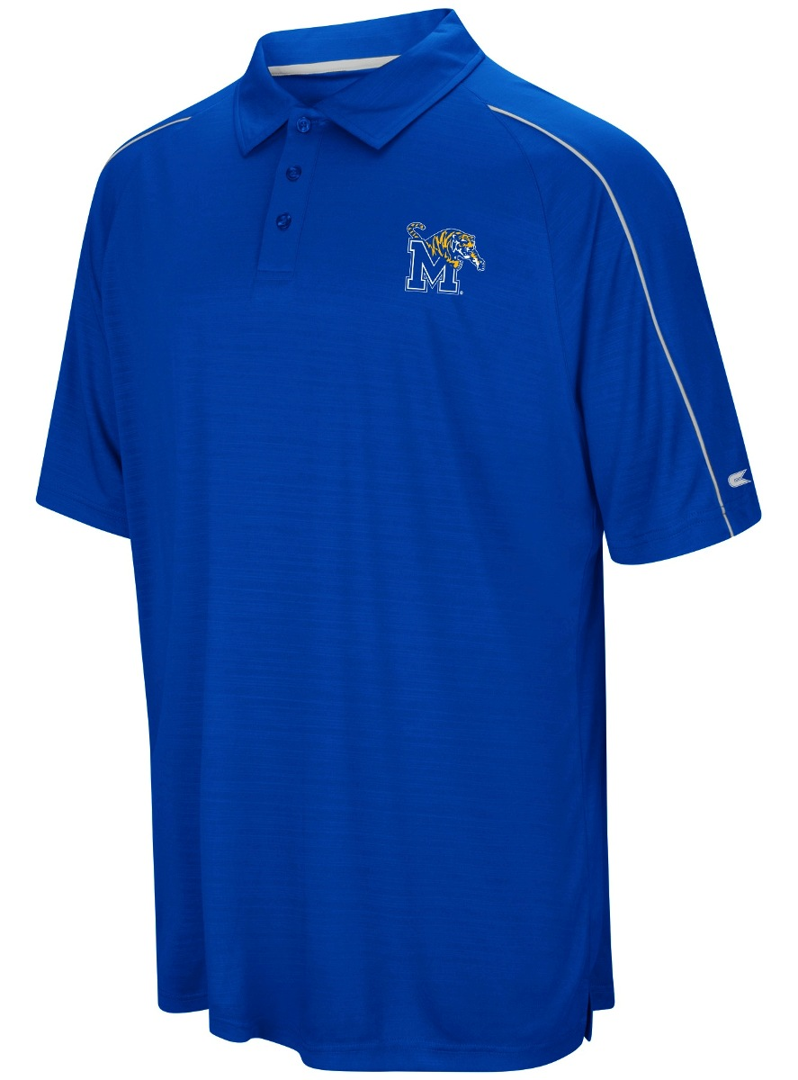 "Memphis Tigers NCAA ""Setter"" Men's Performance Polo Shirt"