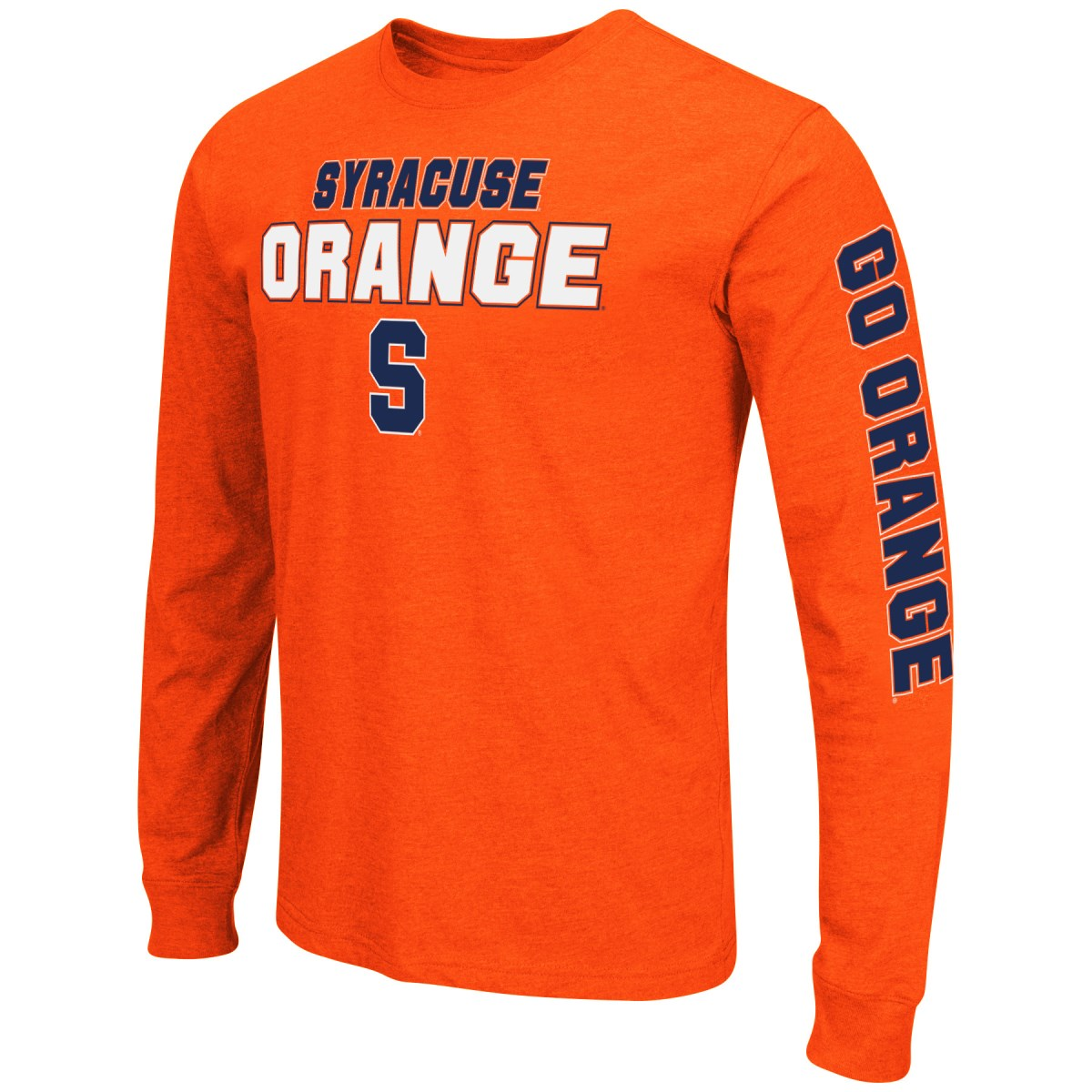 "Syracuse Orange NCAA ""Game Changer"" Long Sleeve Dual Blend Men's T-Shirt"