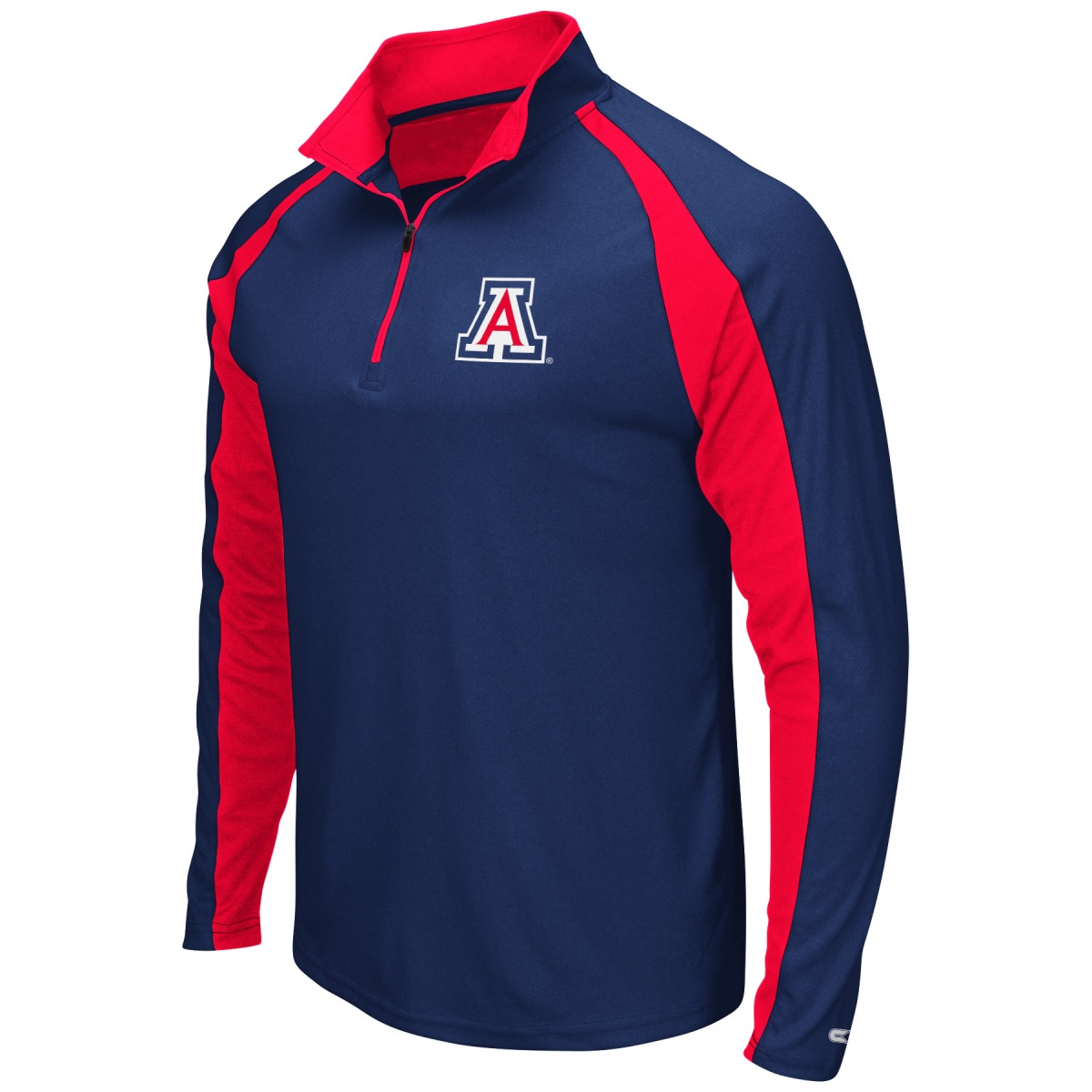"Arizona Wildcats NCAA ""Peterman"" 1/4 Zip Pullover Men's Wind Shirt"