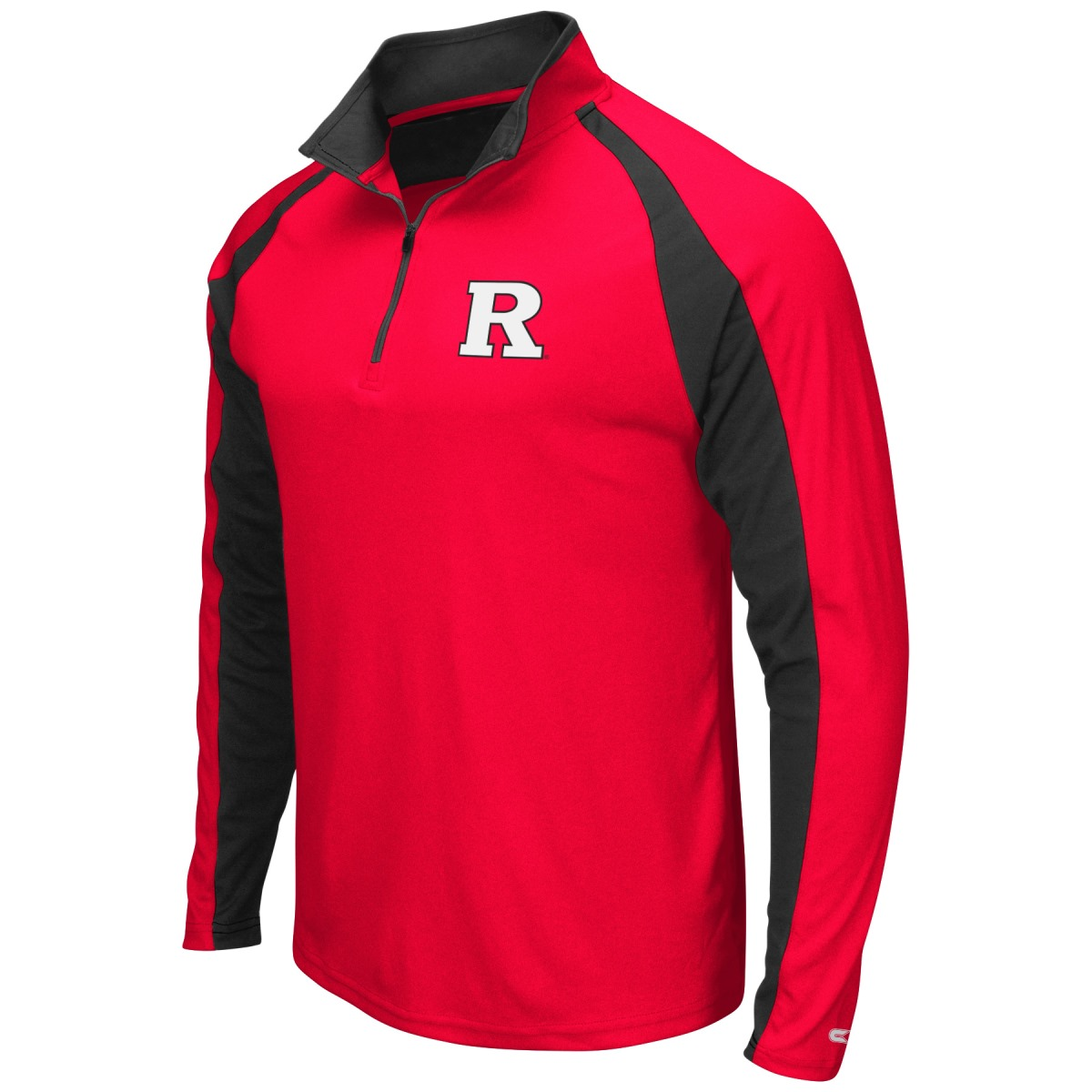 "Rutgers Scarlet Knights NCAA ""Peterman"" 1/4 Zip Pullover Men's Wind Shirt"