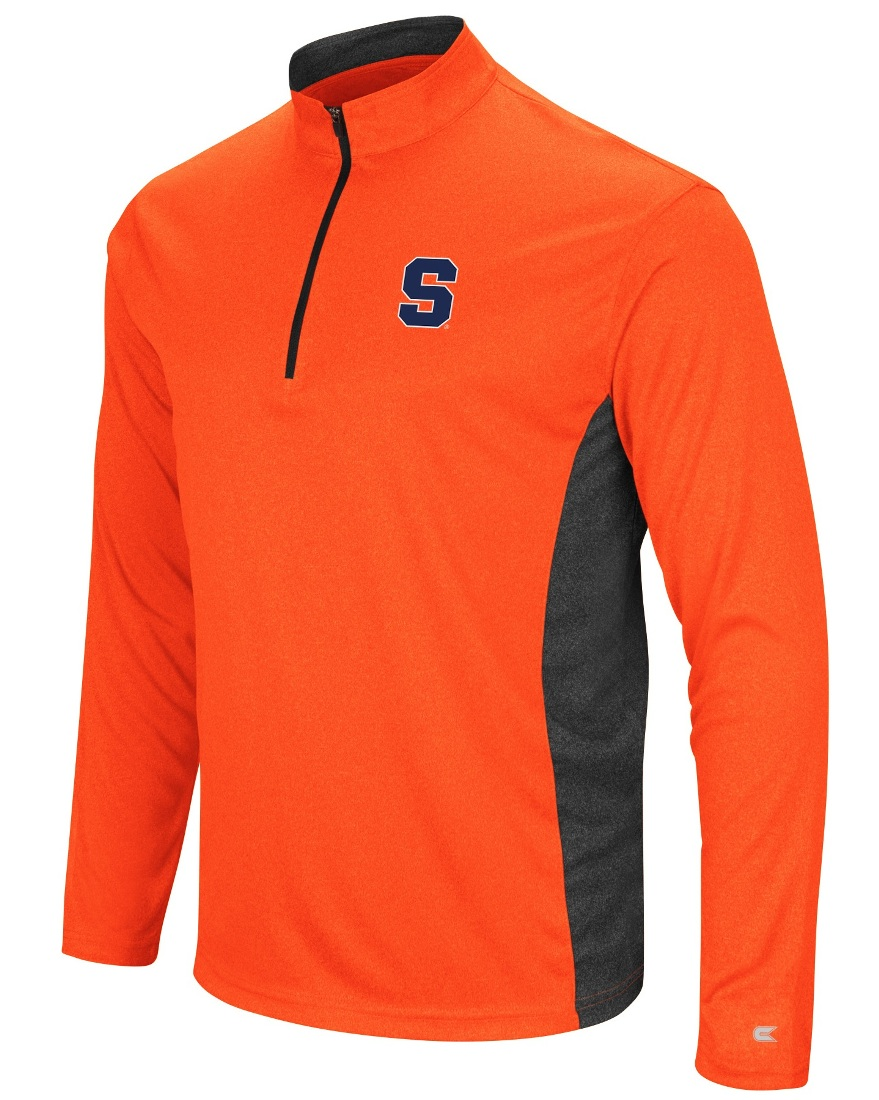 "Syracuse Orange NCAA ""Audible"" 1/4 Zip Pullover Men's L/S Wind Shirt"