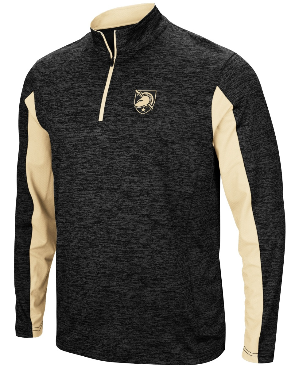 "Army Black Knights NCAA ""Turn Two"" 1/4 Zip Pullover Men's Wind Shirt"