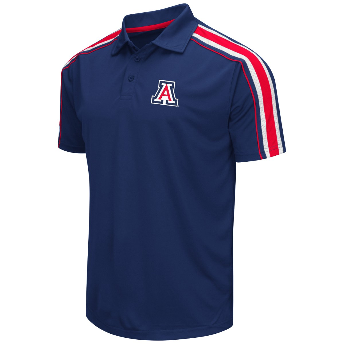 "Arizona Wildcats NCAA ""Admiral"" Men's Performance Polo Shirt"