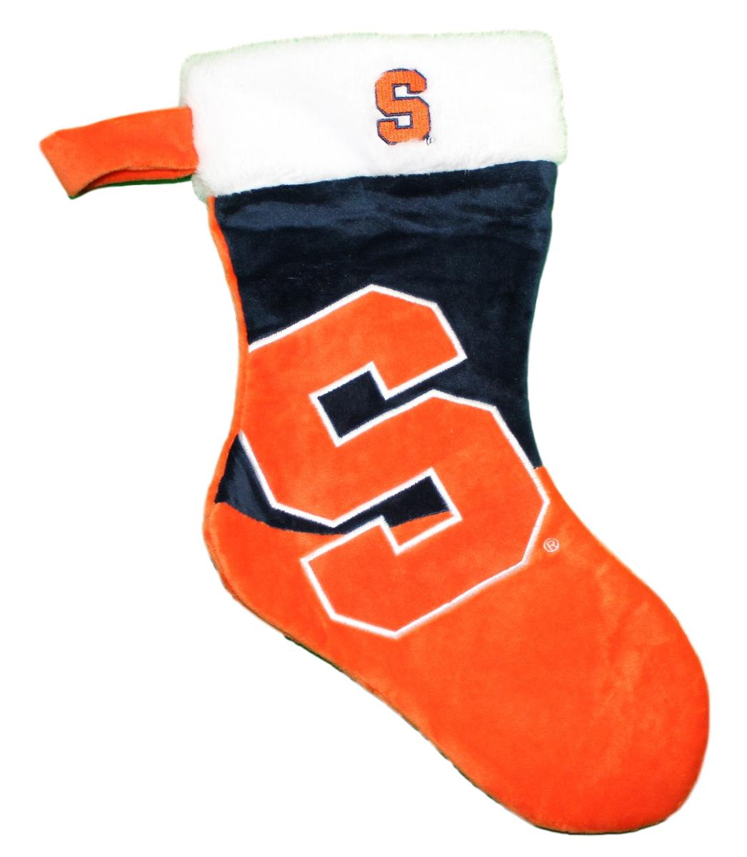 Syracuse Orange 2018 NCAA Basic Logo Plush Christmas Stocking