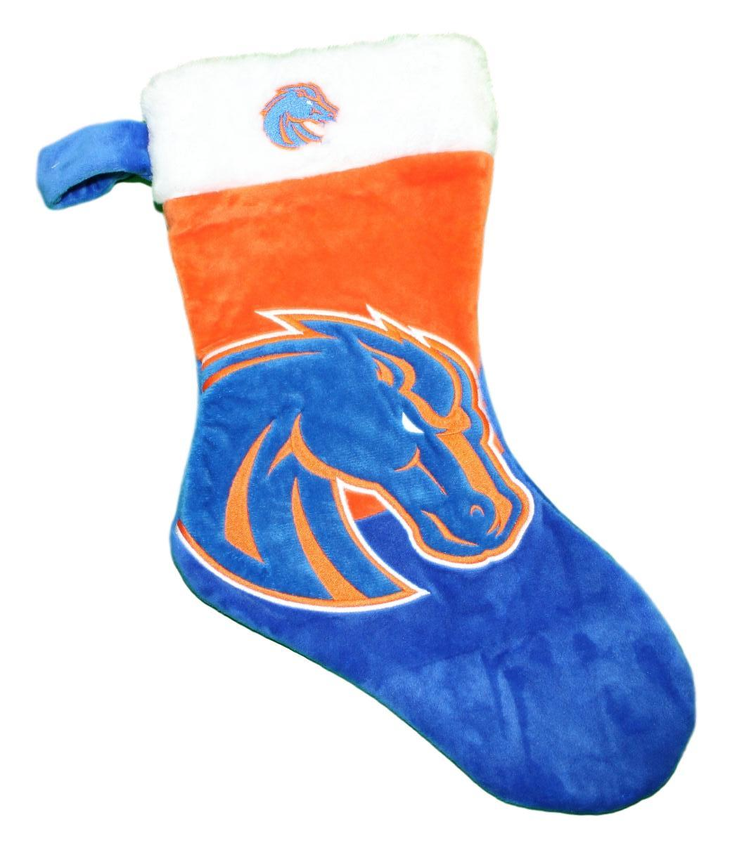 Boise State Broncos 2018 NCAA Basic Logo Plush Christmas Stocking