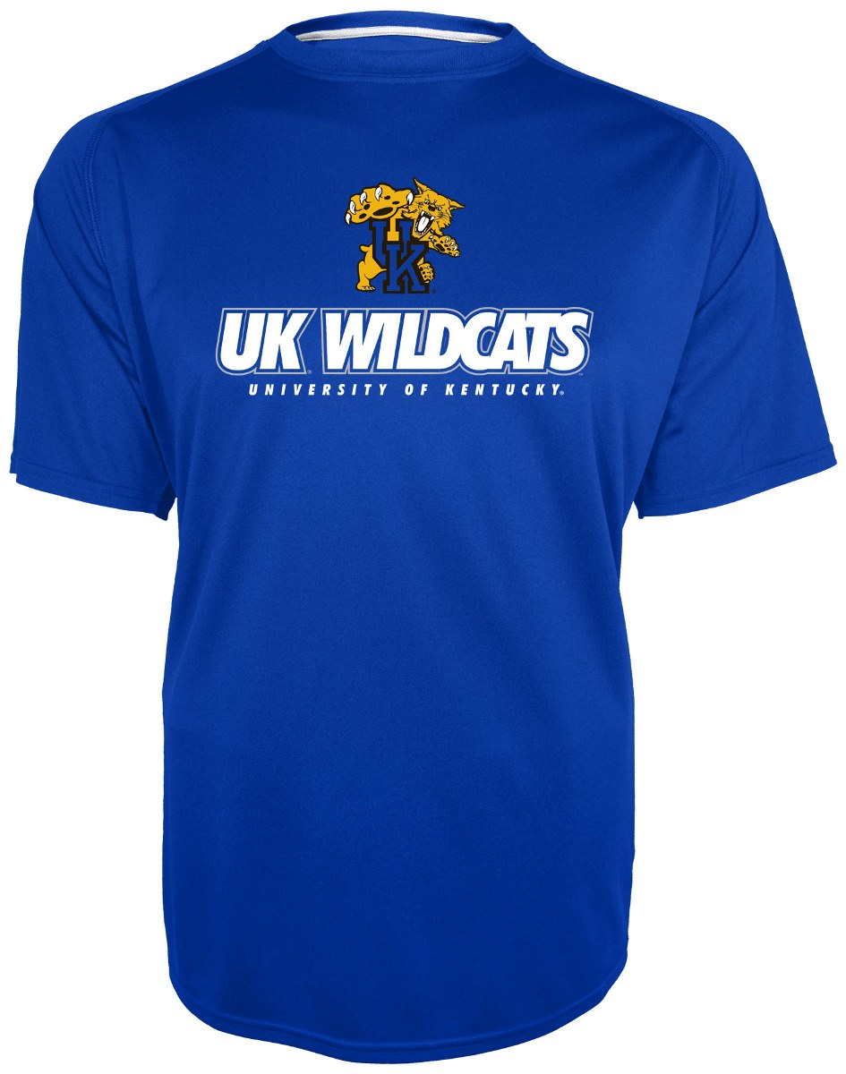 "Kentucky Wildcats Majestic NCAA ""Training To Win"" Performance T-Shirt"