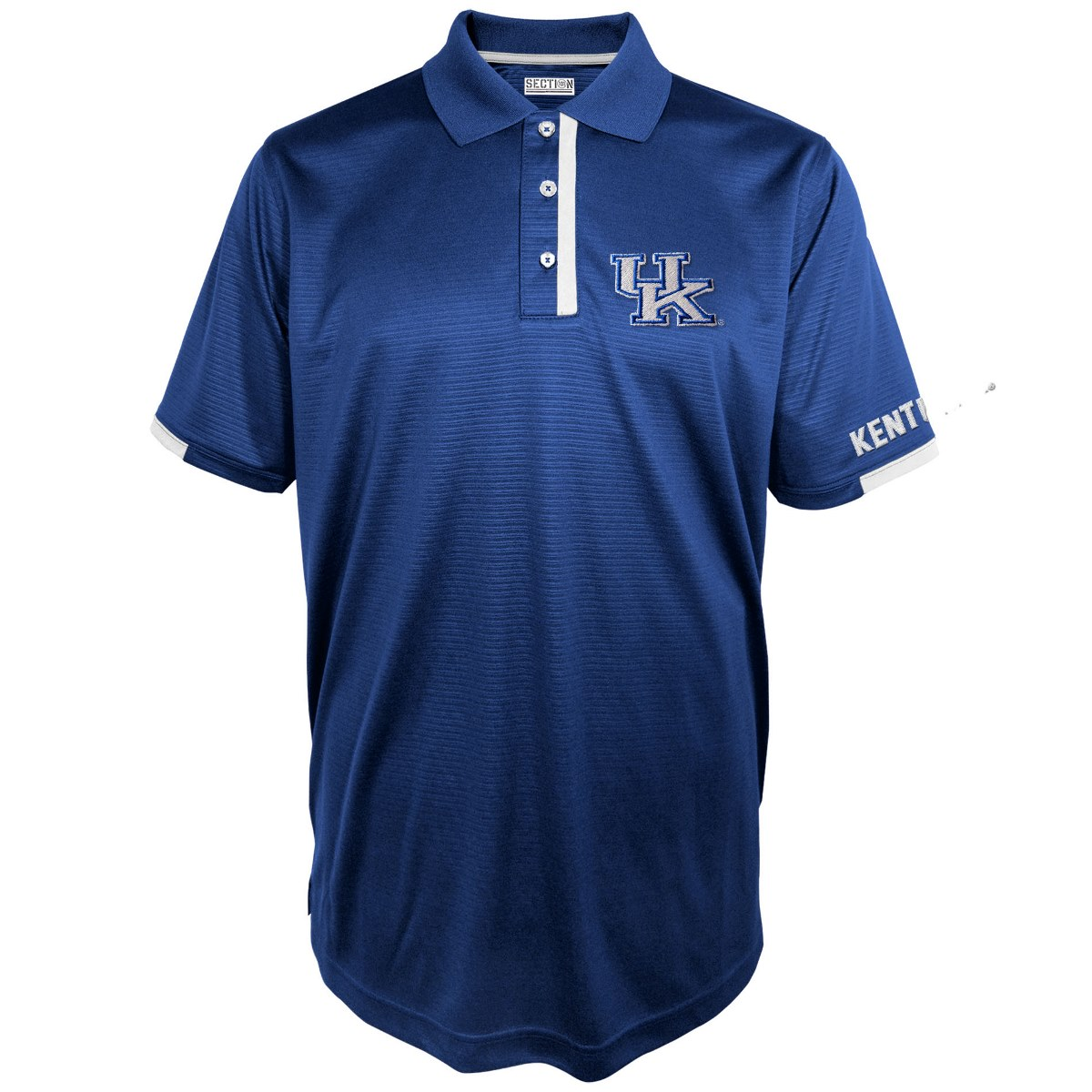 "Kentucky Wildcats Majestic NCAA ""3rd Down"" Performance Polo Shirt"