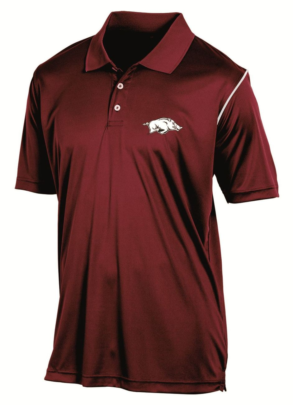 "Arkansas Razorbacks Champion NCAA ""Playclock"" Performance Polo Shirt"