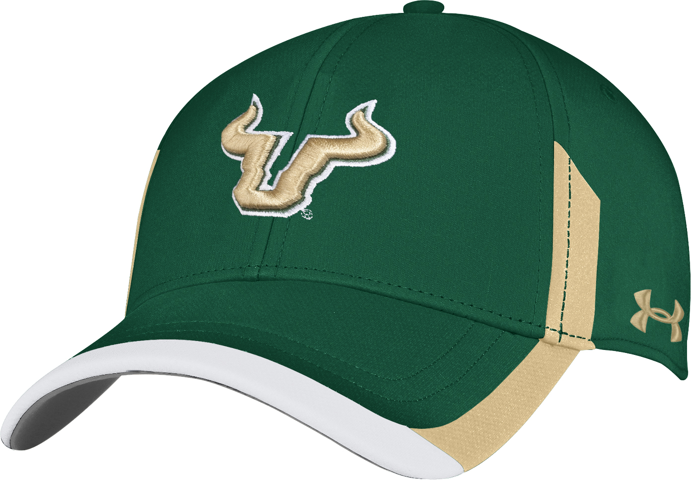 "South Florida Bulls Under Armour NCAA Sideline ""Renegade"" Stretch Fit Hat"