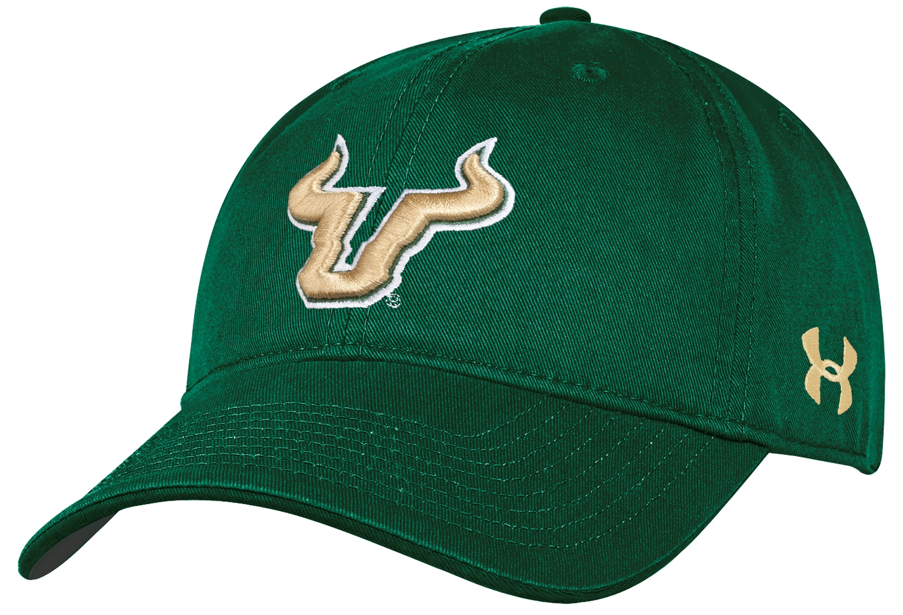 South Florida Bulls Under Armour NCAA Sideline Adjustable Slouch Hat