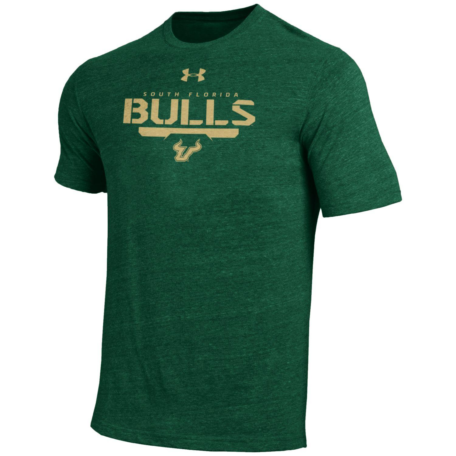 "South Florida Bulls Under Armour NCAA ""Free Safety"" Tri-Blend S/S Shirt"