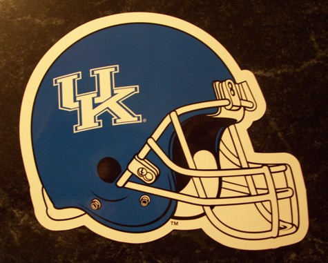 Kentucky Wildcats Helmet Logo NCAA Car Magnet