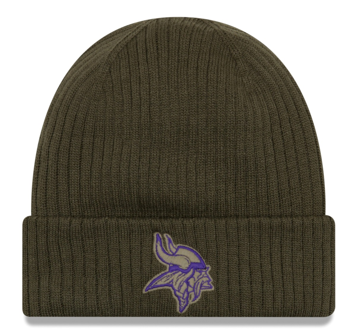 "Minnesota Vikings New Era 2018 NFL Sideline ""Salute to Service"" Knit Hat"