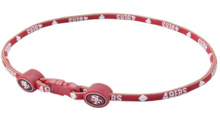 San Francisco 49ers 20'' Titanium Sports Necklace
