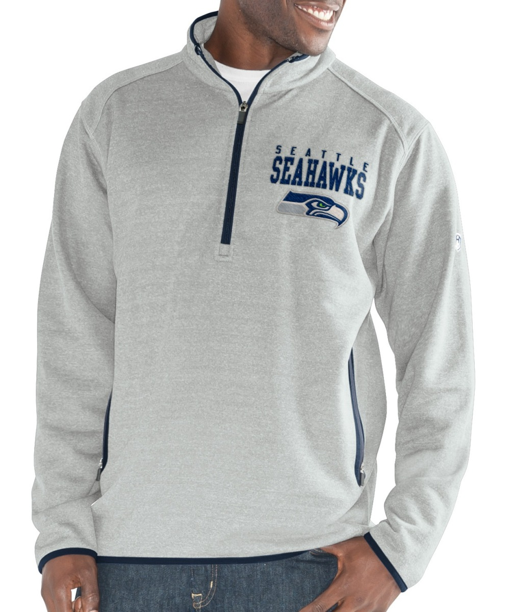 "Seattle Seahawks G-III NFL ""Deep Out"" 1/4 Zip Premium Men's Sweatshirt"