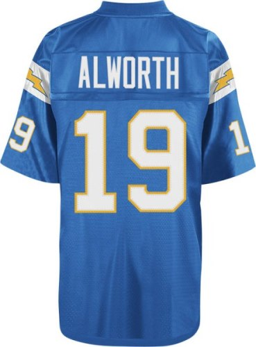 Lance Alworth San Diego Chargers Mitchell & Ness Throwback Premier Blue Jersey