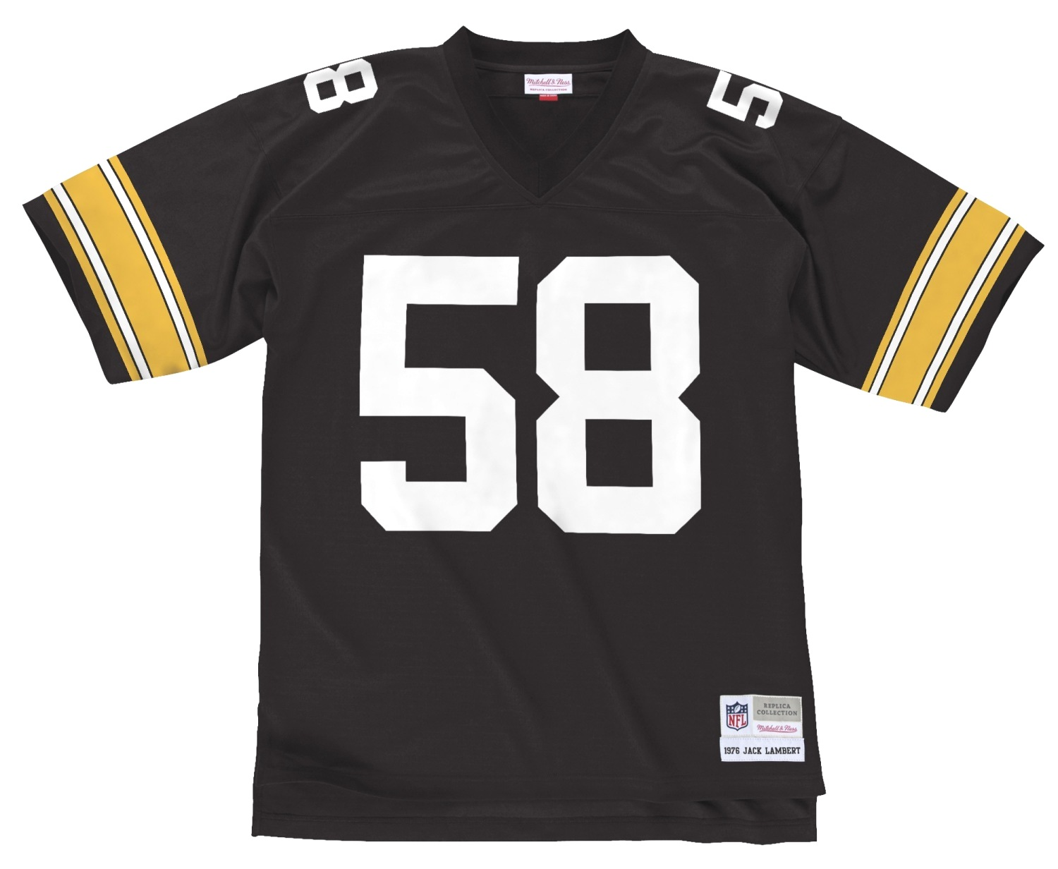 Jack Lambert Pittsburgh Steelers NFL Mitchell & Ness Throwback Premier Jersey