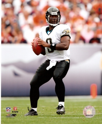 David Garrard Jaguars 2007 Action