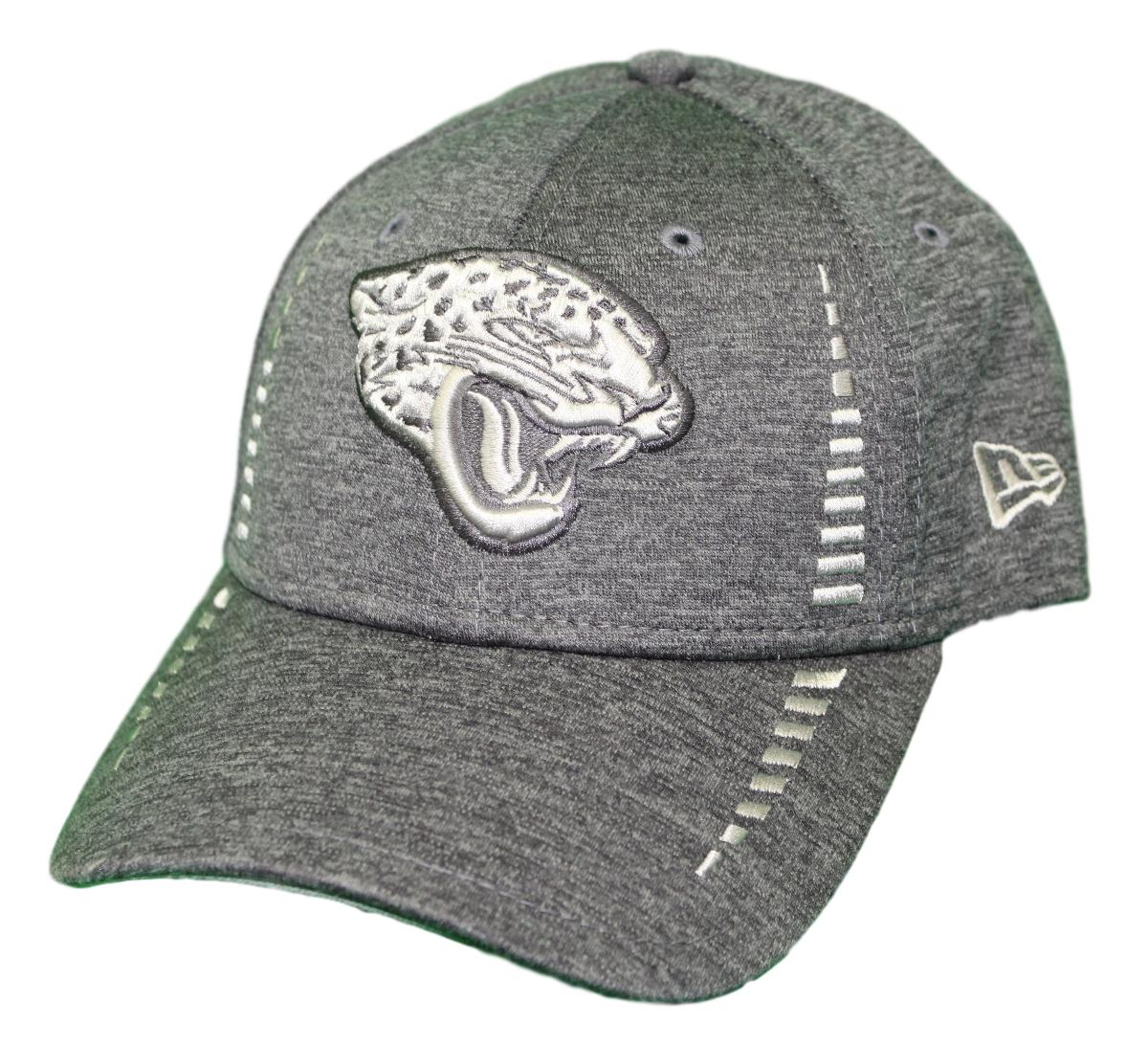 "Jacksonville Jaguars New Era 9Forty NFL ""Graphite Shadow Speed"" Adjustable Hat"