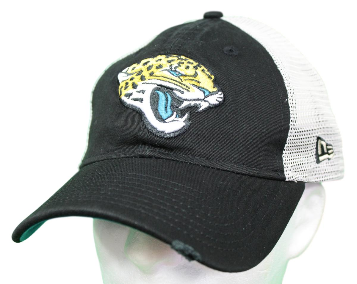 "Jacksonville Jaguars New Era NFL 9Twenty ""Stated Back"" Adjustable Meshback Hat"