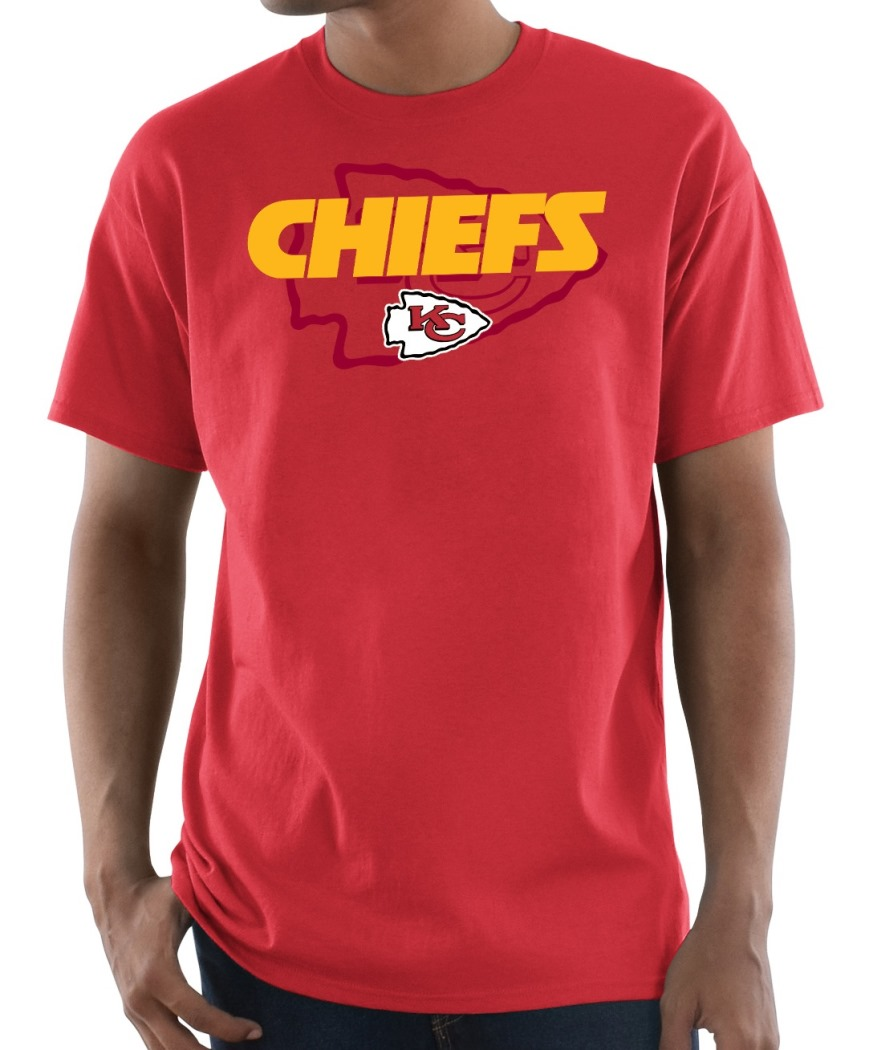 "Kansas City Chiefs Majestic NFL ""Pick Six"" Men's Short Sleeve T-Shirt - Red"