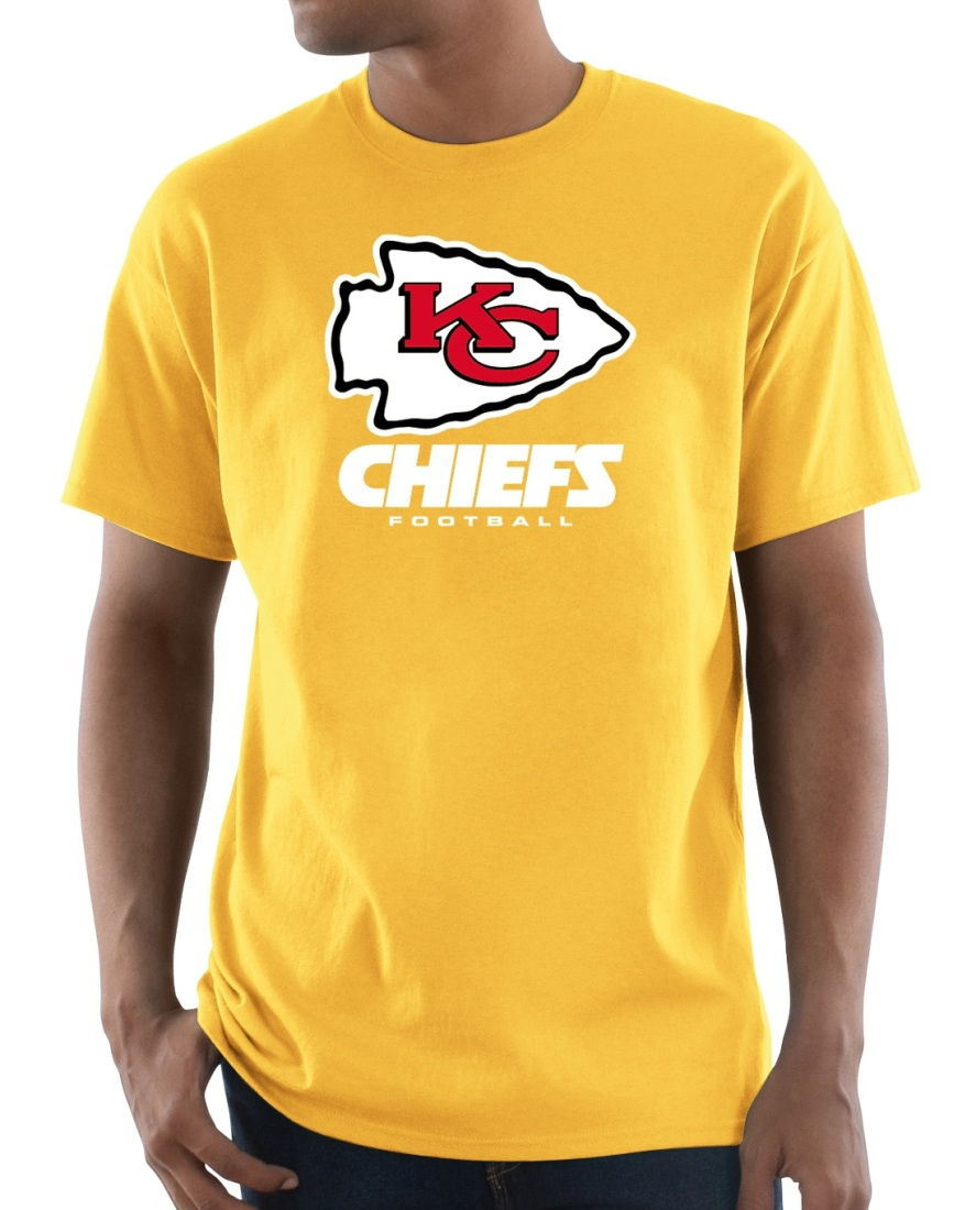 "Kansas City Chiefs Majestic NFL ""Critical Victory 3"" Men's S/S T-Shirt - Gold"