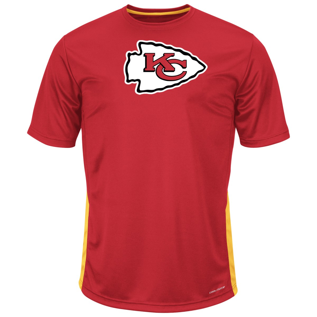 "Kansas City Chiefs Majestic NFL ""To The Limits"" Men's Cool Base T-Shirt"